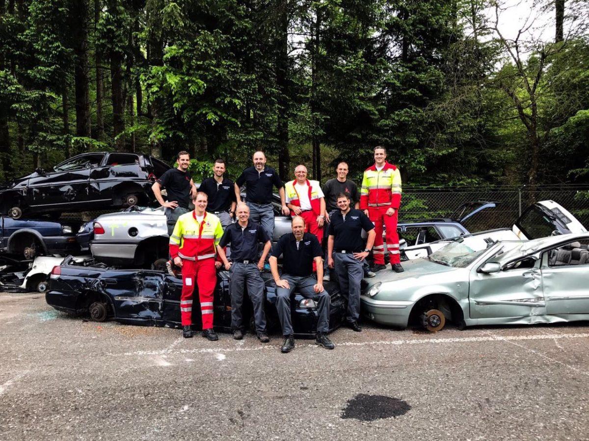Rettungsdienst: Gemeinsamer PBU-Kurs mit der Stützpunktfeuerwehr Vaduz in Bern