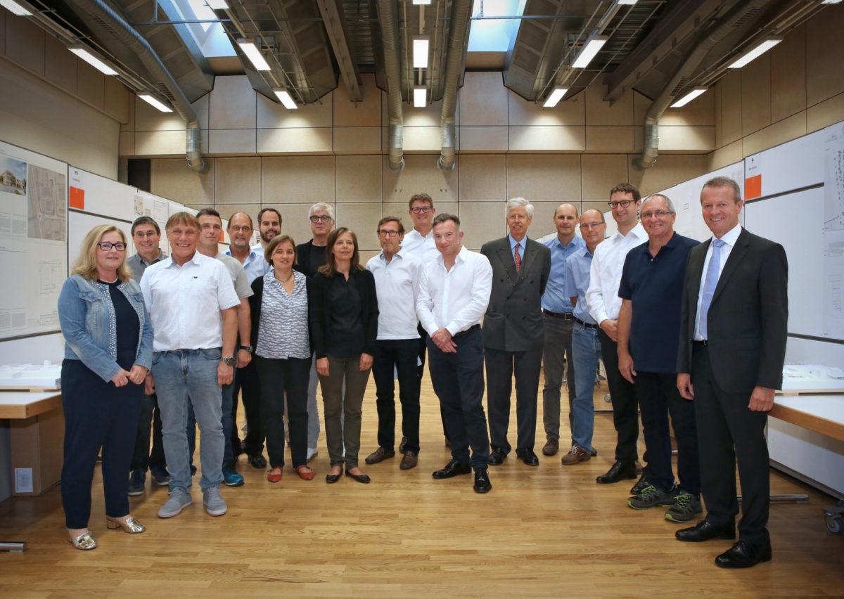 """LRK Neubau: """"the Roof"""" gewinnt den Projektwettbewerb"""